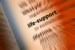 Life Support Stock Images