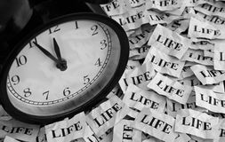 Life and Time Stock Image