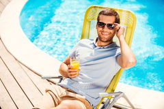 This is the life! Stock Images