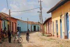 Life in trinidad, Cuba Stock Image
