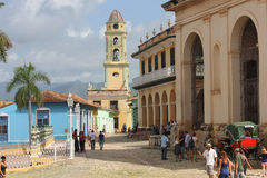 Life in trinidad, Cuba. Royalty Free Stock Images