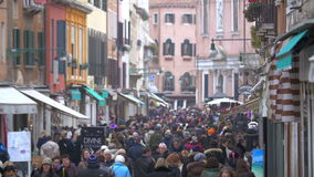 Daily Life of Venice, Italy stock video footage