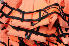 Life vest background Royalty Free Stock Images