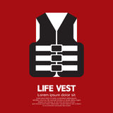Life Vest Vector Illustration Royalty Free Stock Photo