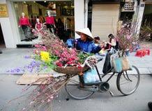 Life of Vietnamese vendors in Saigon Stock Images