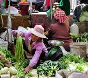 Life of Vietnamese vendors in Saigon Stock Photography