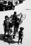 Life. Waiting for tourist, Bihar, India stock photography