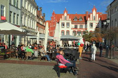 Life in Wismar Royalty Free Stock Photography