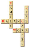 Life work and balance Royalty Free Stock Photography