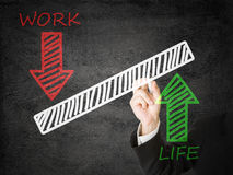 Life/ Work balance Stock Photography