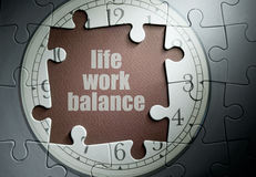 Life work balance stock images
