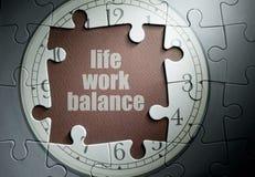 Life work balance Stock Images