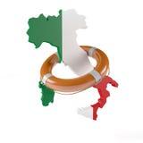 Lifebelt dla Włochy Zdjęcie Stock