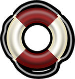 Lifebelt, Lifesaver, Boat, Help Royalty Free Stock Photography
