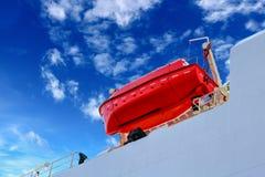 Lifeboat fotografia stock