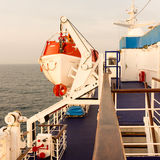 Lifeboat Royaltyfri Bild