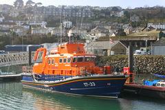 Lifeboat Beth Sell berthed in harbour Royalty Free Stock Images