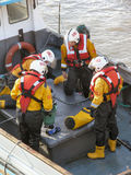 Lifeboat Crew Royalty Free Stock Images