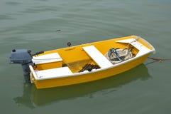 Lifeboat. A lifeboat docked at the sea stock photos
