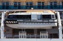 Lifeboat passenger ship Stock Photography