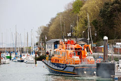 Lifeboat rescue service Stock Photos