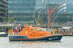 lifeboat rnli Fotografia Royalty Free