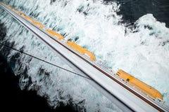 Lifeboat row Stock Photos