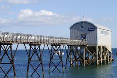 Lifeboat station at Selsey. Sussex. UK Royalty Free Stock Photo
