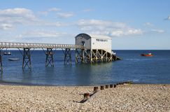Lifeboat station at Selsey. Sussex. UK Stock Image