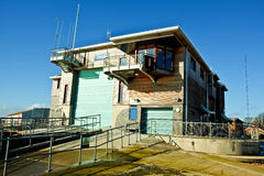 Lifeboat station with slipway Stock Images