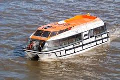 Lifeboat tender at sea Royalty Free Stock Images