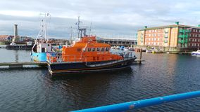 Lifeboat w Hartlepool Obrazy Royalty Free