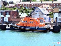 Lifeboat, Weymouth, Dorset, UK zdjęcie stock