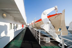 lifeboats круиза стоковые изображения rf