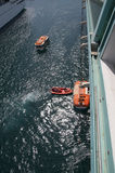 lifeboats Photographie stock