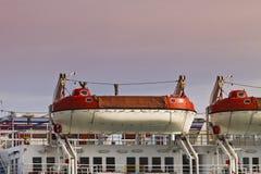 lifeboats стоковая фотография rf
