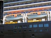 lifeboats fotografia stock libera da diritti
