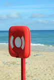 Lifebouy on Beach. Stock Photography