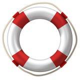 lifebuoy的救生带 库存例证