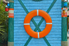 lifebuoy的装饰 库存图片