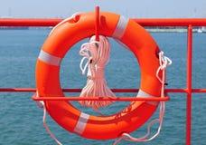 lifebuoy ασφάλεια δαχτυλιδιών Στοκ εικόνες με δικαίωμα ελεύθερης χρήσης