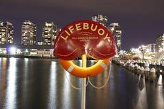 Lifebuoy Μελβούρνη Στοκ εικόνες με δικαίωμα ελεύθερης χρήσης