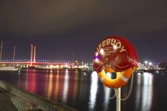 Lifebuoy Μελβούρνη Στοκ Εικόνες