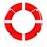Lifebuoy, που απομονώνεται σε άσπρο, διάνυσμα Στοκ εικόνα με δικαίωμα ελεύθερης χρήσης