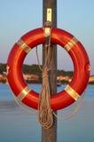 lifebuoy красный цвет Стоковые Изображения RF