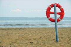 lifebuoy полюс Стоковые Изображения