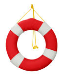 Lifebuoy. Isolated in white background. Clipping path included royalty free stock images