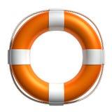 lifebuoy的3d 免版税库存照片