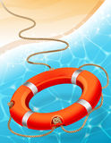 lifebuoy Fotografie Stock