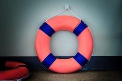 Кольцо Lifebuoy и жизни Стоковые Фото
